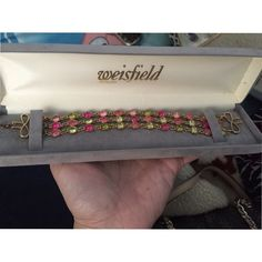 NWOT bracelet Not Victoria secret but I figured it would get great exposure. Don't know to much about the bracelet since it was a gift. Was told its worth $30-$35 but asking for $20 but willing to negotiate. Make me an offer and I can also bundle. PINK Victoria's Secret Jewelry Bracelets