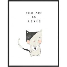 You are so loved Cute kitten-35
