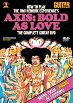 Guitar World: How to Play The Jimi Hendrix Experience's Axis: Bold as Love DVD
