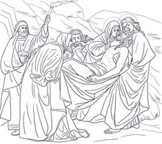 La Nativite Robert Campin Famous Paintings Coloring Pages
