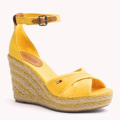Tommy Hilfiger Lively Espadrilles - mineral yellow (Yellow / Orange) - Tommy Hilfiger Wedges & Espadrilles - main image