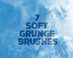 Freebie Friday: 7 Soft Grunge Brushes