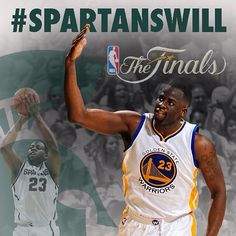Congrats to @money23green  Great series young man!! #NBAFinals  #spartyon #spartanswill