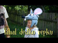 Smejko a Tanculienka - Ťahal dedko repku (rozprávka) - YouTube Itunes, Crochet Hats, Youtube, Animals, Pictures, Animales, Animaux, Animal, Youtube Movies
