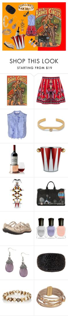 """""""show time"""" by moestesoh ❤ liked on Polyvore featuring M Missoni, jucca, Wolf Circus, Mark & Graham, Alessi, DMD Helmets, Jambu, Deborah Lippmann, Devon Page McCleary and SAACHI Style"""