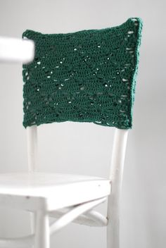 Crochet Cover Chair