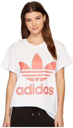 adidas Big Trefoil Tee Women s T Shirt Adidas Originals, T-shirts Für Frauen 5a899a1a81