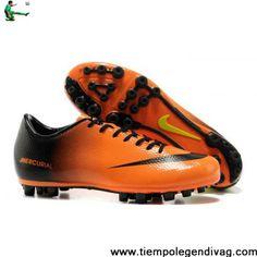 898c11a74e61 Cheap Discount 2012 - 2013 New Nike Mercurial Vapor IX AG Soccer Shoes  Orange Black Green Soccer Boots Store