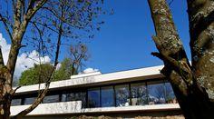 Maison P - Vue extérieure - 2016 - Mont-Saint-Aignan (76130) - France - BO. A Architecture  #boarchitecture  © T. Boivin Photographe