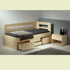 Dětská vyvýšená postel Hanny II. 90x200 Toddler Bed, Furniture, Design, Home Decor, Child Bed, Decoration Home, Room Decor, Home Furnishings