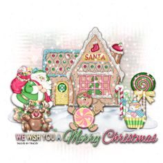 A Seasonal image from glitter-graphics.com - Merry Christmas!