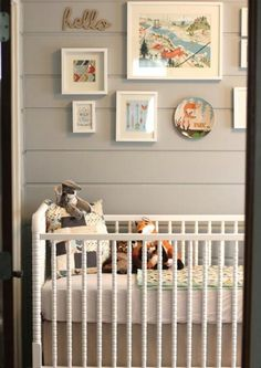 woodland nursery | Woodland nursery, featuring the Liberty Crib at ... | Where Baby Slee ...