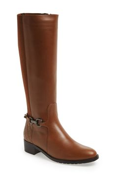 These tan Aquatalia boots are on the wish list!