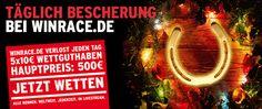 Bescherung bei winrace.de