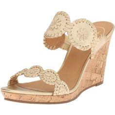8322c8bff4957 Jack Rogers Women s Luccia Wedge Sandal ( 93) ❤ liked on Polyvore featuring  shoes