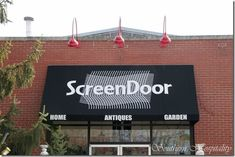 Screen Door Asheville--need to go there next time we visit Asheville