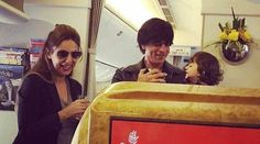 AbRam isn't too fond of SRK-Kajol's on-screen antics AbRam Khan was the cutest little member on the sets of Dilwale and according to Shah Rukh Khan he also had an opinion on the goings-on on the sets. The cutie was apparently not very amused to see Shah Rukh romancing Kajol on-screen. While the world has waxed eloquent about the chemistry that the two share, little AbRam is clearly not amused and there seems to be no cause for his dislike too. Aww, that's one protective son right there…