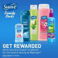 Earn Rewards When You Purchase Your Favorite Suave Products at Walmart + Giveaway - Two Classy Chics