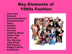 Many styles that were popular in 1990 are also popular now. Attire like crop tops, flannels, chokers, dark lips, baggy tshirts, etc. were common in the 1990's for women. Fashion trends for men were overalls with one strap down, hip hop graphic tees, Sketchers Chrome Dome, middle-part bowl cuts, short-sleeve flannel shirts, etc.