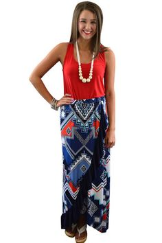 Trinity Ruffle Maxi Skirt – The ZigZag Stripe - Save 10% with code ZZS9 #ilovezigzag #affordable #boutique