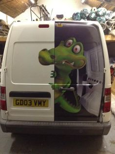 great van door graphics!