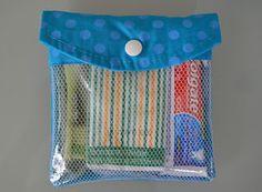 Retalhos & Alinhavos: Kit Higiene Bucal