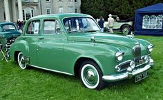 1954 Humber Hawk MKV with 2.2L 4-Cylinder Side-Valve Engine 1950s Car, Motor Company, Old Cars, Cars And Motorcycles, Vintage Cars, Classic Cars, Automobile, British, Around The Worlds
