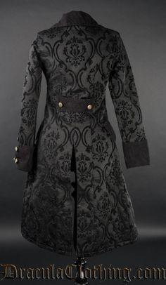 Vintage Victorian Gothic Steampunk Costume by lainazboutique Steampunk Clothing, Steampunk Fashion, Gothic Fashion, Gothic Steampunk, Coats For Women, Clothes For Women, Gothic Outfits, Suit Fashion, Victorian Gothic