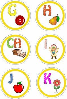 Preschool Learning Activities, Games For Kids, Alphabet, Teacher, Symbols, Education, Logos, Montessori Activities, Games For Children