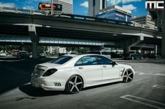 Mercedes-Benz by MC Customs MC Customs and Wald International designed a body kit for the Mercedes Benz The Mercedes Benz S550, Car Tuning, Germany, Bespoke Cars, Forests