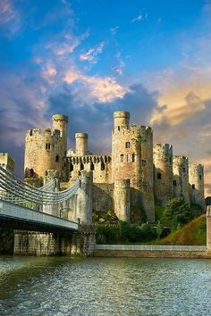 Conway Castle, Wales