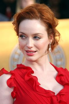 bb61bcd5f847 Christina Hendricks 2009 SAG AWARDS Scarlett Johansson