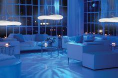 Living Spaces MR. MAGOO SUSPENSION Natural White