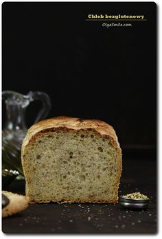 Chleb bezglutenowy  Piekę, co drugi dzień chleb bezglutenowy, tak zwyczajnie w piekarniku. Chleb bezglutenowy w zwykłej formie metalowej, taki bez gimnastyki aż miło tak piec bez cudowania. Wzbogacam go zawsze ziołami oraz ziarnami aby nie był Vegan Bread, Fodmap, Gluten Free Recipes, Free Food, Banana Bread, Favorite Recipes, Cooking, Foods, Mom