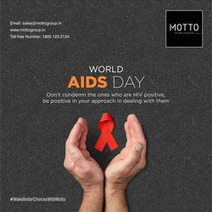 Don't condemn the ones who are HIV positive, be positive in your approach in dealing with them World AIDS Day..! #Motto #Tiles #mottogroup #Ceramic #FloorTiles #slabtiles #CeramicTiles #CeramicTile #SlabTile #Slab #Tile #Marbles #MarblePlus #WorldAIDSDay #WAD2020 #WAD #KnowYourStatus #HIV #WorldAIDSDay2020 #AIDS #StopStigma #WorldHIVDay International Days, Hiv Positive, World Aids Day, Marbles, Motto, Tiles, Positivity, Social Media, Room Tiles