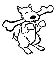 Dog Coloring Pages For Kids Preschool Crafts Dog Coloring