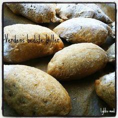Lykke-mad - en gluten, laktose og ægge-fri blog: Verdens bedste glutenfri boller