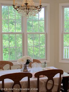Soft and Pretty Paint Colors. The color is Benjamin Moore Tapestry Beige OC-32