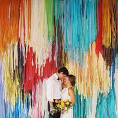 Tassel ceremony backdrop