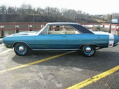 1969 Dodge Dart GTS 383. Original Drivetrain and 4-Speed. The Only Heater Delete 1969 Dodge Dart GTS 383 Produced.