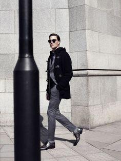 Street style tendance : Ramsey Fall Winter  fashion4men