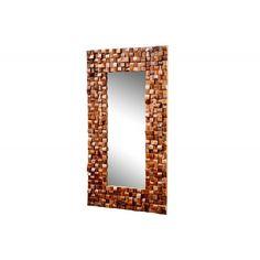 Moderne spiegel Mosaik 100x180cm teakhout - 35446