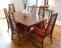 Mid Century Modern SAGA by Broyhill Premier Brasilia Dining Table ...