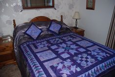 Another purple quilt