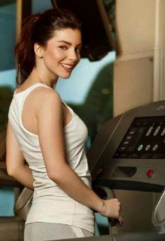 Merve Bolugur, Turkish Actress and Model - Rexona Commercial Beautiful Girl Body, Most Beautiful, Girls Characters, Celebs, Celebrities, Female Form, Basic Tank Top, Actors, Tank Tops