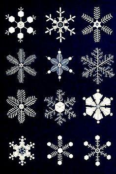 #Christmas #Chalkboard art #quote ToniK ⊱CհαƖҜ ℒЇℕ℮⊰ #Snowflakes publicdomainreview.org