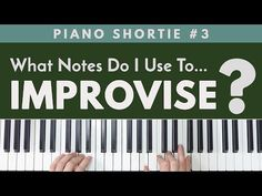 What Notes Should I Use To Start Improvising? Piano Lessons, Music Lessons, Pentatonic Scale, Skillet Band, Memphis May Fire, Music Score, Mikey Way, Playing Piano, Frank Iero