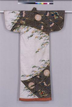 Kosode, Edo Period, 17th c, Kyoto National Museum