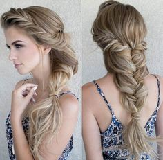 Mermaid braid by Stephanie Brinkerhoff
