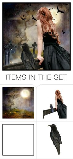 """Under the Full Moon"" by i-am-pam ❤ liked on Polyvore featuring art"